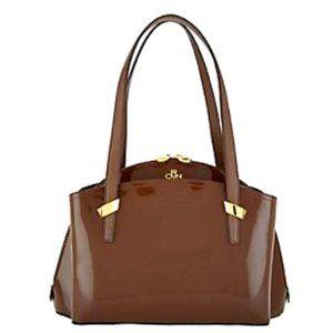 orYANY Karina Patent Leather Satchel NWT